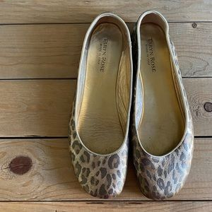Taryn Rose Leopard Flats